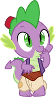 Spike as Aladdin by CloudyGlow