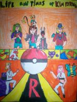 Pokemon fanfic cover page by digirobotphantom10