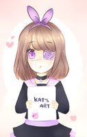 Kat's art ~ by Nyanndere