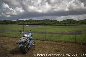 A motorcycle on a cloudy day by Caramanos2000