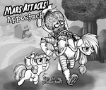 Mars Attacks Applejack by Darkone10