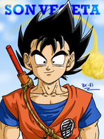 Son Vegeta by BK-81