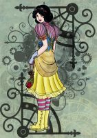 Steampunk Snow White by luxshine