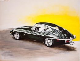 Jaguar E Type by jkwonman