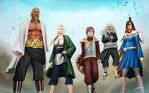 The five Kage by Abremson