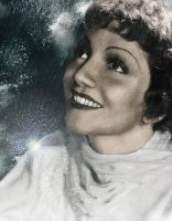 Claudette Colbert by Ficklestix