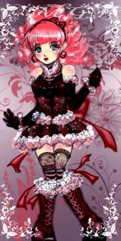 another lolita anime girl by mgv