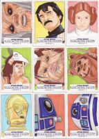 Star Wars Galactic Files Series 2 Sketch Cards 08 by Tyrant-1