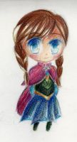 Frozen - Anna Chibi by shinyskymin