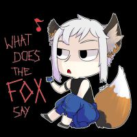 Lou : What does the Fox say~? by DICE-Shimi