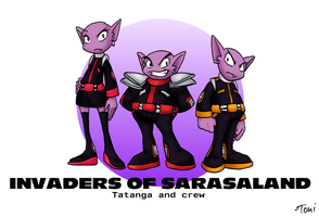 Invaders of Sarasaland by bot-chan