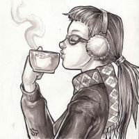 Autumn Coffee by dpdagger