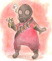 Pyro is Pyro by TehBurningOrange