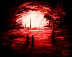 Red Cave by elicenia
