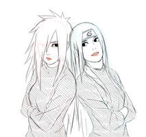 genderbent madara and hashirama by steampunkskulls