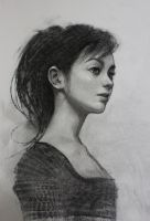 Charcoal Study by arthurgain