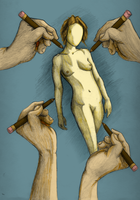 Hands of Creation Colored by DKayCrafts