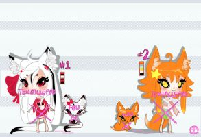 {CLOSED Auction} ADOPTS 2ND SET. ends feb 1st. by TentacleF00