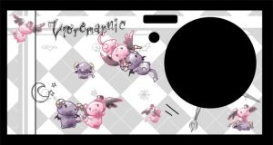 Cell Phone Skin - Lloromannic by littlenicky