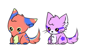 Puppy and Kitten Adopts :CLOSED: by SALBP