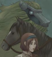 Shadow of the Colossus by eris212