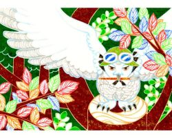 white owl that defends forest by 6-4-0