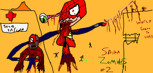 Spider-Zombies Issue #2 by TheUltimateSpiderFan