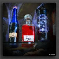 Potions magiques I by hyneige