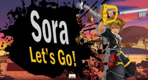Sora SSB4 Request by Elemental-Aura
