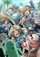 Final Fantasy Rumble by mangaholix