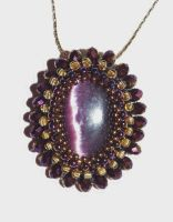 First Woven Cabochon 4.20.13 by Artsee1