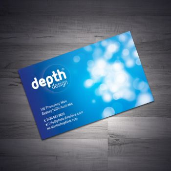 Business Card Design by photoshophive