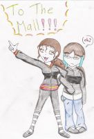 To The Mall by n00dle-gurl06