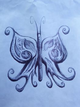Ballpoint butterfly package decoration by DoctorFantastic