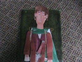 Elijah Wood as Frodo Baggins by movieman410