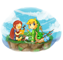 Windwaker buds by Mangopoptart