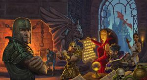 Clue Dungeon and Dragons by StawickiArt
