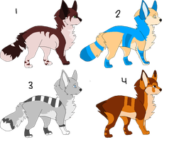 .:Multi Colored Adopts #1:. -OPEN- by Brokeneh