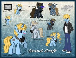 [COM] Sound Craft Reference Sheet by Kazziepones