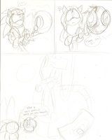 Sonic Portal comic WIP by Weretoons101