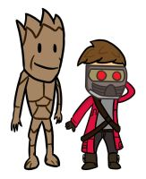 Marvel Elementary: Guardians of the Galaxy 1 by bobpatrick7