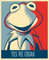 Yes we croak by pasatheone