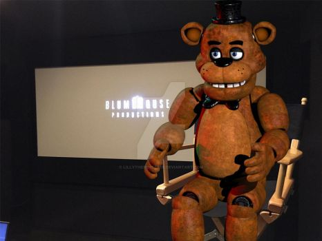 Freddy Fazchair by LillyTheRenderer