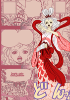 Queen Otohime color prediction by Skadi-Skadi-No-Mi