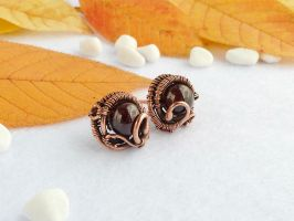 earrings Sloe by UrsulaOT