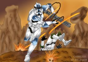Clone trooper _ver.1 by Chimera9