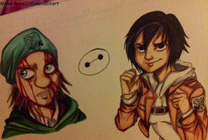 Attack On Big Hero 6: Fred And Gogo by Millie-Rose13