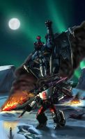 IDW Cover Contest - Scourge by hansime