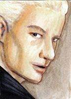 Spike Sketch card by Sternentee