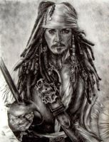 Captain Jack Sparrow by Pearlan